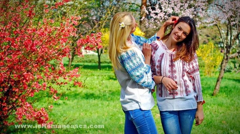 la blouse roumaine brodée a vendre