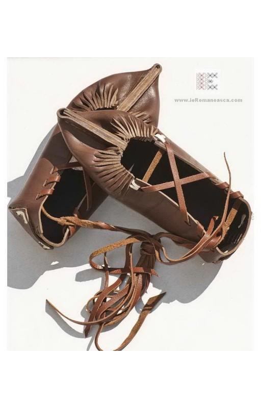 opinci - romanian traditional shoes