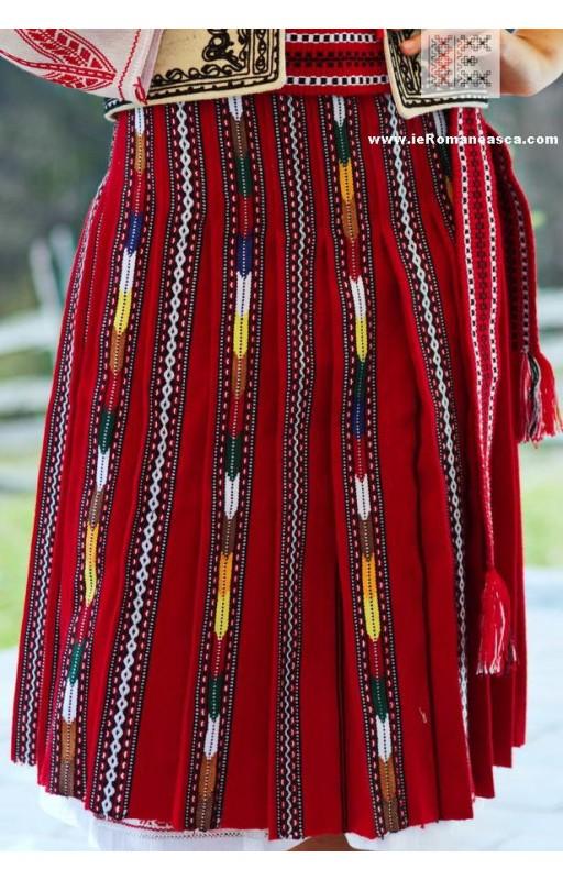 オルテニアからの伝統的なスカート