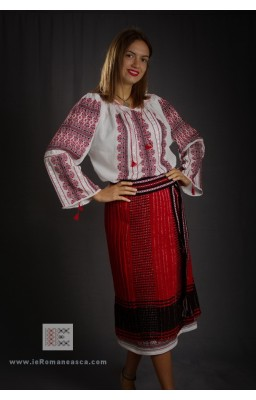 Romanian folk costume from Muntenia Area