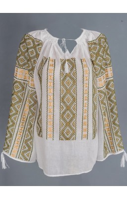 embroidered romanian peasant blouses