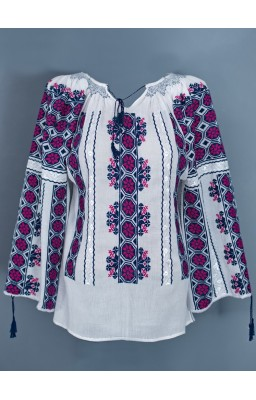 la blouse roumaine brodee