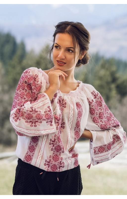 embrodiered boho chick blouse