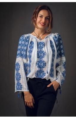chemises roumaines brodées...