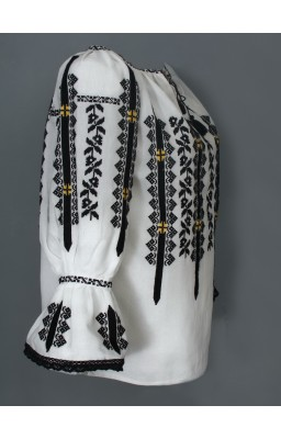 embroidered romanian blouse adele