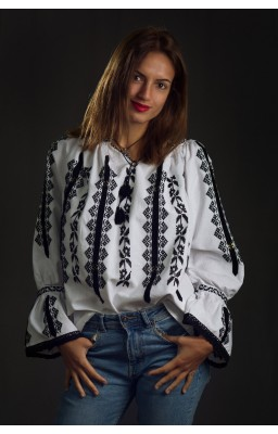 ford embroidered romanian blouse tom