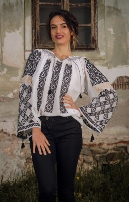 Romanian embroidered...