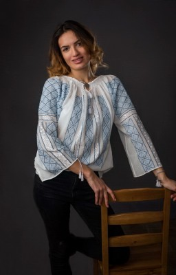 authentic romanian embroidered blouses