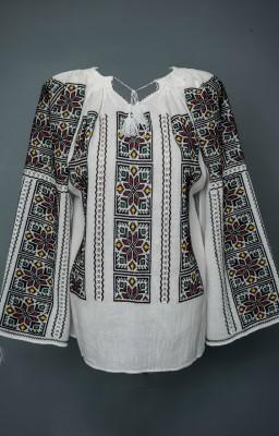 ルーマニアの刺繍入りブラウス-ハーモニー dor