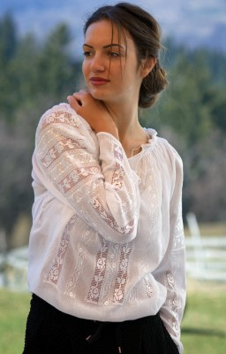 romanian embroidered blouses