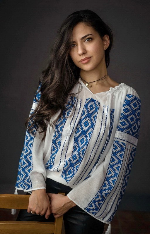 buy embroidered romanian blouses
