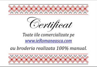 ii brodate manual certificat