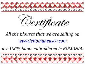 handmade romanian blouses