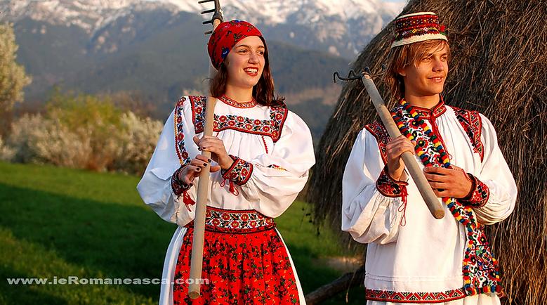 Volksbekleidung Rumänien - Trachten - Traditionelle kleidung